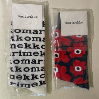 marimekko - マリメッコmarimekko靴下 ソックス 2足セット