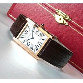 Cartier - ☆極美品☆ カルティエ タンクソロ LM ピンクゴールド / 腕時計