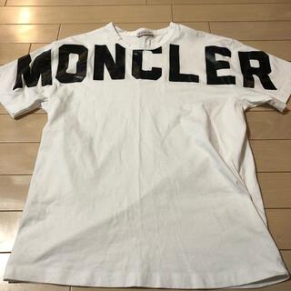 モンクレール(MONCLER)のモンクレール2020SSビッグロゴTシャツ(Tシャツ/カットソー(半袖/袖なし))