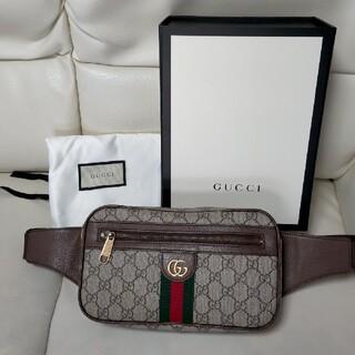 Gucci - GUCCI  オフィディアGGベルトバッグ