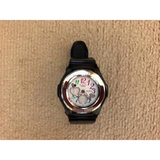 ベビージー(Baby-G)の値下げ Baby-G  腕時計 黒 アナログ 美品(腕時計)