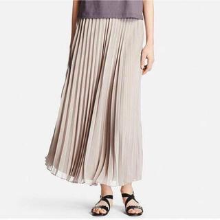UNIQLO - UNIQLO プリーツスカート ロングスカート Sサイズ