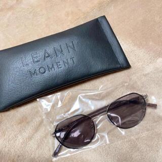 【LEANN MOMENT】サングラス brown