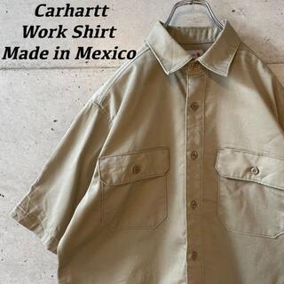 carhartt - 【人気】Carhartt カーハート ワーク シャツ ベージュ