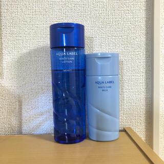 アクアレーベル(AQUALABEL)のアクアレーベル ホワイトケア ローション ミルク(化粧水/ローション)