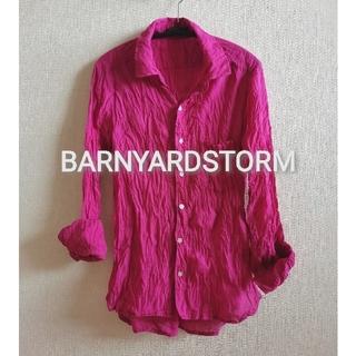 BARNYARDSTORM - 【BARNYARDSTORM】コットンシャツ