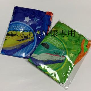 タカラトミー(Takara Tomy)の【新品】アサヒ☆プラレール 巾着リュック(2枚セット)(ノベルティグッズ)