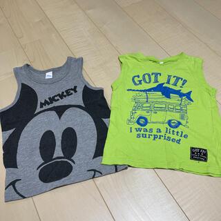 ニシマツヤ(西松屋)のタンクトップ2枚セット(Tシャツ/カットソー)