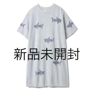 gelato pique - 新品未使用  ジェラートピケ モチーフジャガードドレス サメ シャーク ワンピ