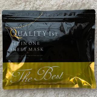 QUALITY FIRST - クオリティー ファースト オールインワンシートマスク ベスト EXS 20枚入り