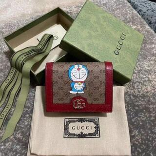 Gucci - 【新品・未使用品】GUCCI ドラえもん コラボ 二つ折り 財布
