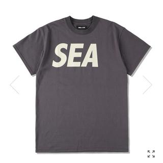 SEA - WIND AND SEA SEA S/S T-SHIRT L CHARCOAL