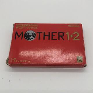 ニンテンドウ(任天堂)のコジ様専用 MOTHER 1+2  マザー GBA(携帯用ゲームソフト)