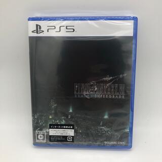 スクウェアエニックス(SQUARE ENIX)の新品未開封 ファイナルファンタジーVII リメイク インターグレード PS5(家庭用ゲームソフト)