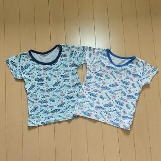 ニシマツヤ(西松屋)の西松屋 車柄 色違いシャツ 100cm(Tシャツ/カットソー)