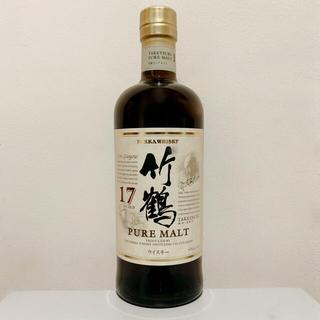 ニッカウヰスキー - 【新品未開封】ニッカウヰスキー 竹鶴17年ピュアモルト 700ml