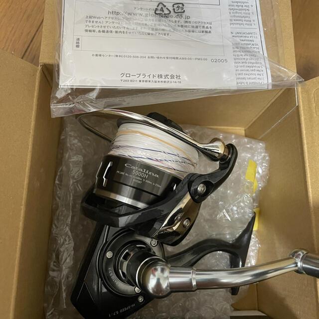DAIWA(ダイワ)のダイワ 16 キャタリナ 5000h 糸新品 スポーツ/アウトドアのフィッシング(リール)の商品写真