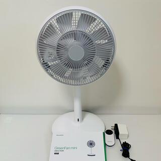 バルミューダ(BALMUDA)の【美品】BALMUDA(バルミューダ)/グリーンファンミニ 扇風機(扇風機)