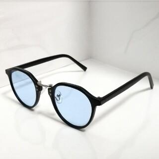 新品 サングラス マットブラックブルー【現品限り】本日限定値下5555→3000