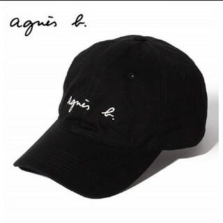 agnes b. -  未使用 agnes b アニエスベー キャップ レディース 帽子  ブラック
