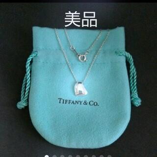 Tiffany & Co. - *美品*TIFFANY*ティファニー ペレッティネックレス*保存袋付き