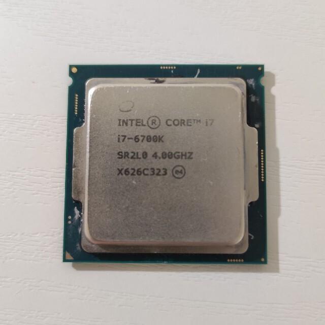 Intel Core i7-6700k スマホ/家電/カメラのPC/タブレット(PCパーツ)の商品写真