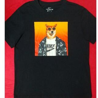 NIKE - NIKE 柴犬 サングラス アロハ ビックプリント XLサイズ 黒ブラック レア