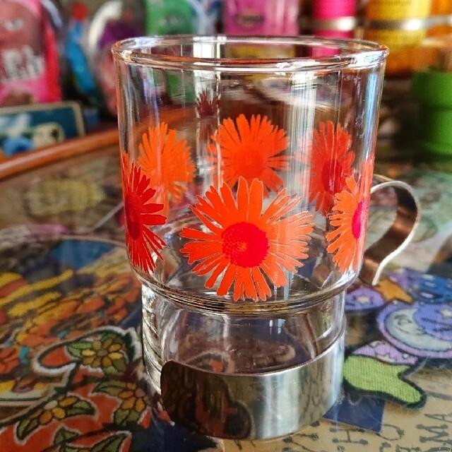 東洋佐々木ガラス(トウヨウササキガラス)の昭和レトロ レトロポップ グラス 3個セット インテリア/住まい/日用品のキッチン/食器(食器)の商品写真