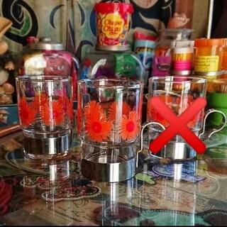 東洋佐々木ガラス - 昭和レトロ レトロポップ グラス 3個セット