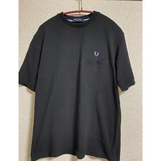 FRED PERRY - フレッドペリー ポロ半袖Tシャツ ブラック M