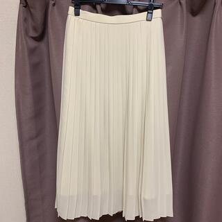 ユニクロ(UNIQLO)のシフォンプリーツロングスカート(ロングスカート)