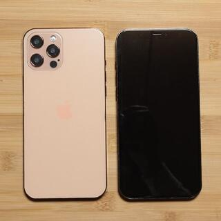 iPhone 12 Pro MAX  ゴールド スマホモックアップ  サンプル(その他)