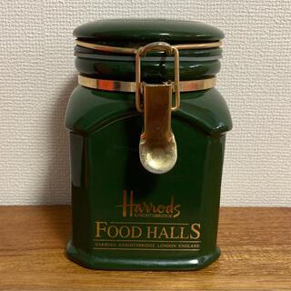 Harrods - 英国 Harrods アールグレイティーの空き瓶 キャニスターボトル 送料無料