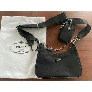 PRADA - プラダ ショルダーバッグ ブラック