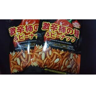 激辛 柿の種 & ピーナッツ 60g(菓子/デザート)