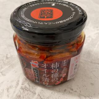 阿部幸製菓 柿の種のオイル漬け 激辛 にんにくラー油 160g(調味料)