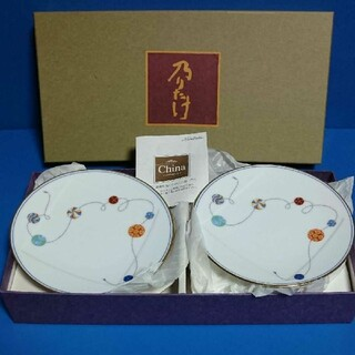 Noritake - ノリタケ 乃りたけ 珠維清 銘々皿揃え 5客