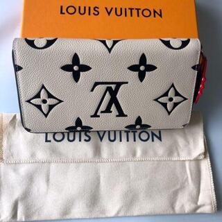 LOUIS VUITTON - ルイヴィトン クラフティ ジッピー・ウォレット クレーム 財布