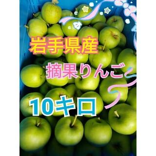 岩手県産 摘果りんご(フルーツ)
