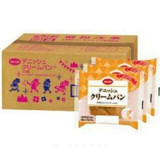 コープ デニッシュクリームパン 10個入(パン)