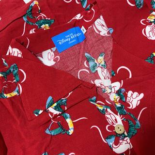 ディズニー(Disney)のディズニー ミニー アロハシャツ(シャツ/ブラウス(半袖/袖なし))