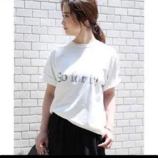 ドゥーズィエムクラス(DEUXIEME CLASSE)の美品!!ドゥーズィエムクラス Tシャツ カットソー(Tシャツ(半袖/袖なし))