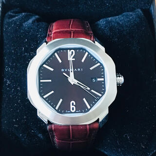 ブルガリ(BVLGARI)の【ほぼ未使用】BVLGARI ★ OCTO ROMA(腕時計(アナログ))