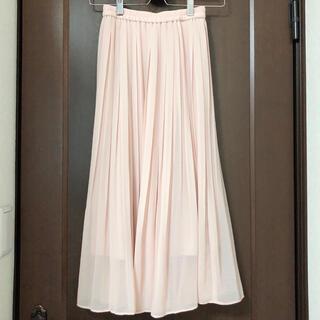 ユニクロ(UNIQLO)のユニクロ シフォンプリーツスカート(ロングスカート)