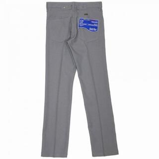 """dairiku """"Slim"""" Flasher Pressed Pants 29"""