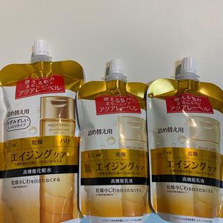 アクアレーベル(AQUALABEL)のアクアレーベル バウンジング 乳液✖️2 化粧水 つめかえ(化粧水/ローション)