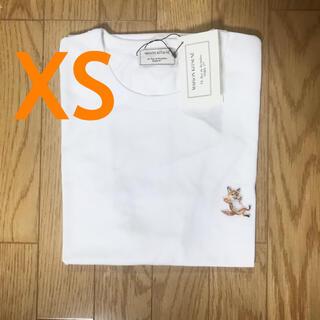 MAISON KITSUNE' - メゾンキツネ チラックスフォックス 半袖tシャツ ホワイト