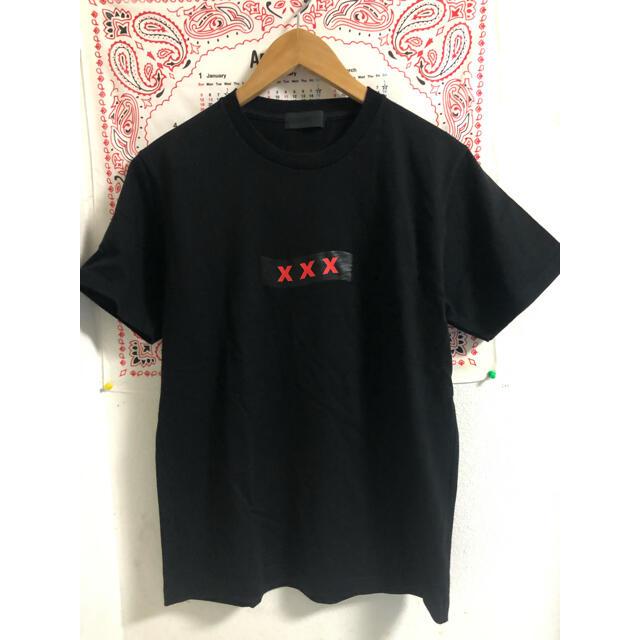 SEA(シー)の仙台限定 ゴッドセレクション XXX box logo 黒 Tシャツ メンズのトップス(Tシャツ/カットソー(半袖/袖なし))の商品写真