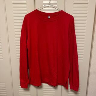 ユニクロ(UNIQLO)のUNIQLOロングTシャツ(Tシャツ(長袖/七分))