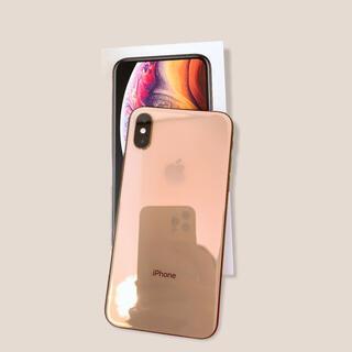 アップル(Apple)のiPhone Xs Gold 64 GB docomo(スマートフォン本体)